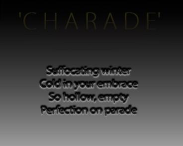 SNAPtheMOON charade promo b&w